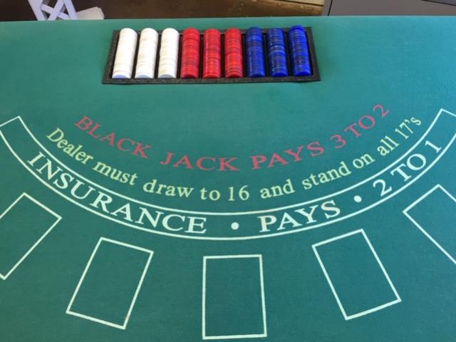 Where to find BLACKJACK, TABLE in Fairfield